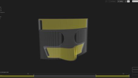 안면보호장비 3D 프린팅