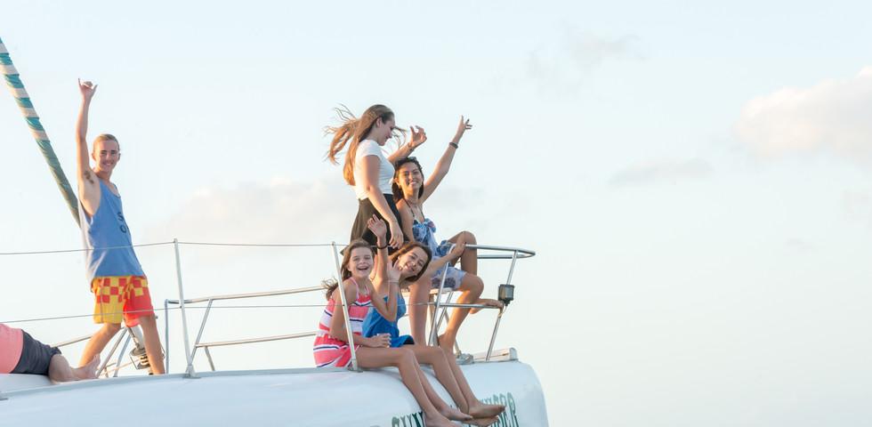 Fun on Sunset Cruiser