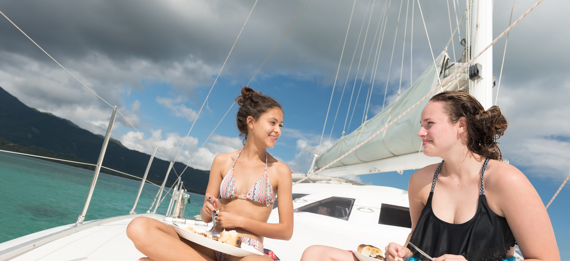 Lunch on Sunset Cruiser