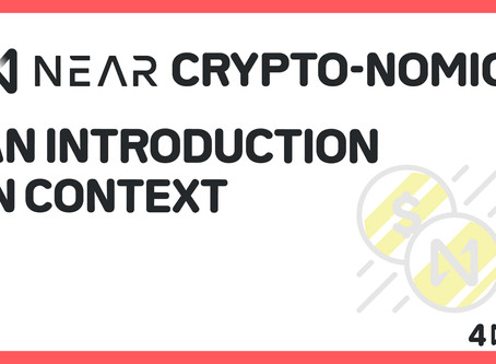 NEAR Crypto-Economics: An Introduction in Context