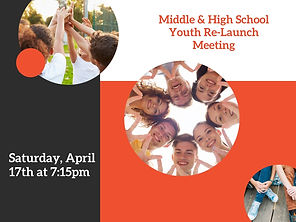Middle & High School Youth Re-Launch Mee