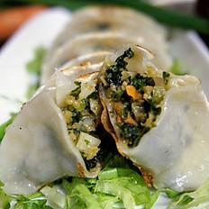 Kale Dumplings