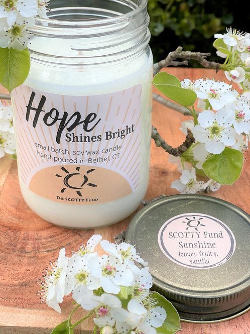 SCOTTY Fund Sunshine Candle