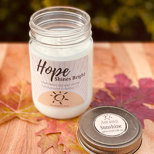 Autumn Sunshine Candle