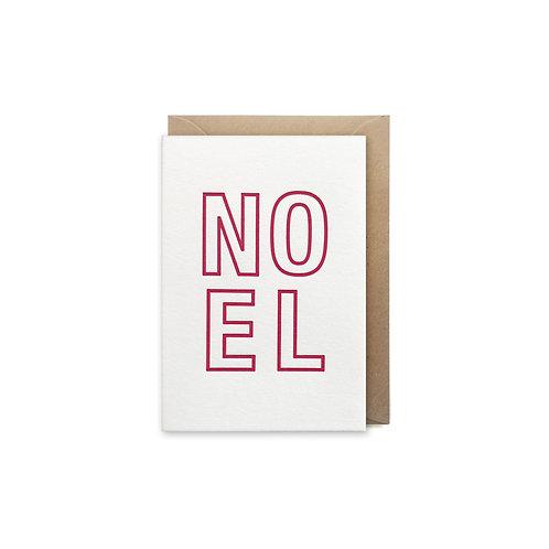 Noel: Small christmas card