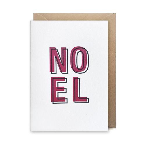 Noel: Christmas card