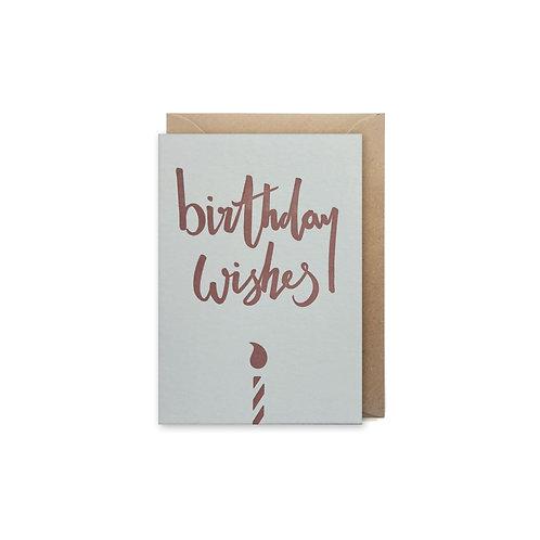 Birthday wishes: Small Birthday card