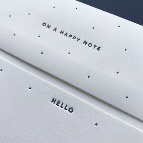 Hello: 8 Notecards