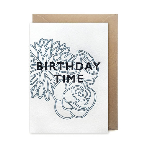 Birthday time: Birthday card