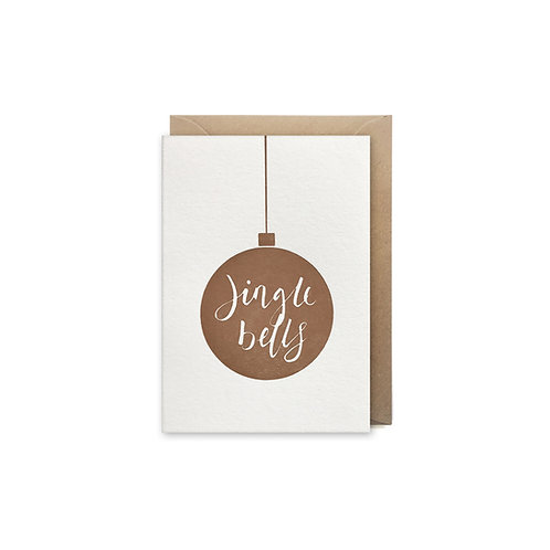 Jingle bells: Small christmas card