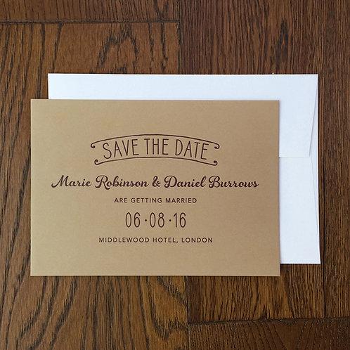 Alba: Save the date