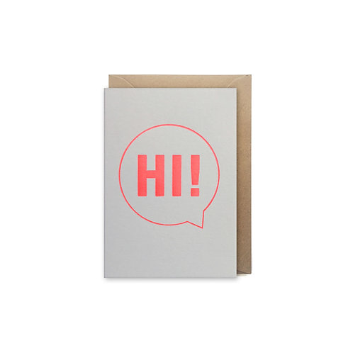 Hi!: Small card