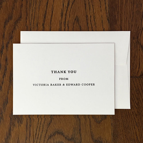 Belfor: Thank you card