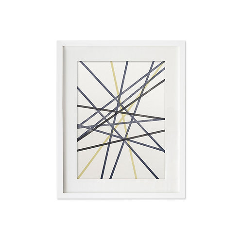 Multi stripes no.2: Art print