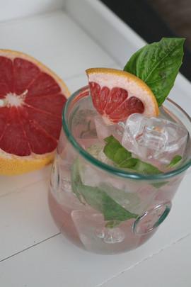 Basil Grapefruit Mojito
