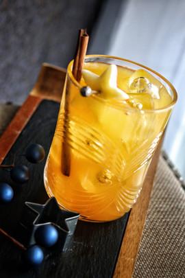 Apple Cider Old Fashioneds