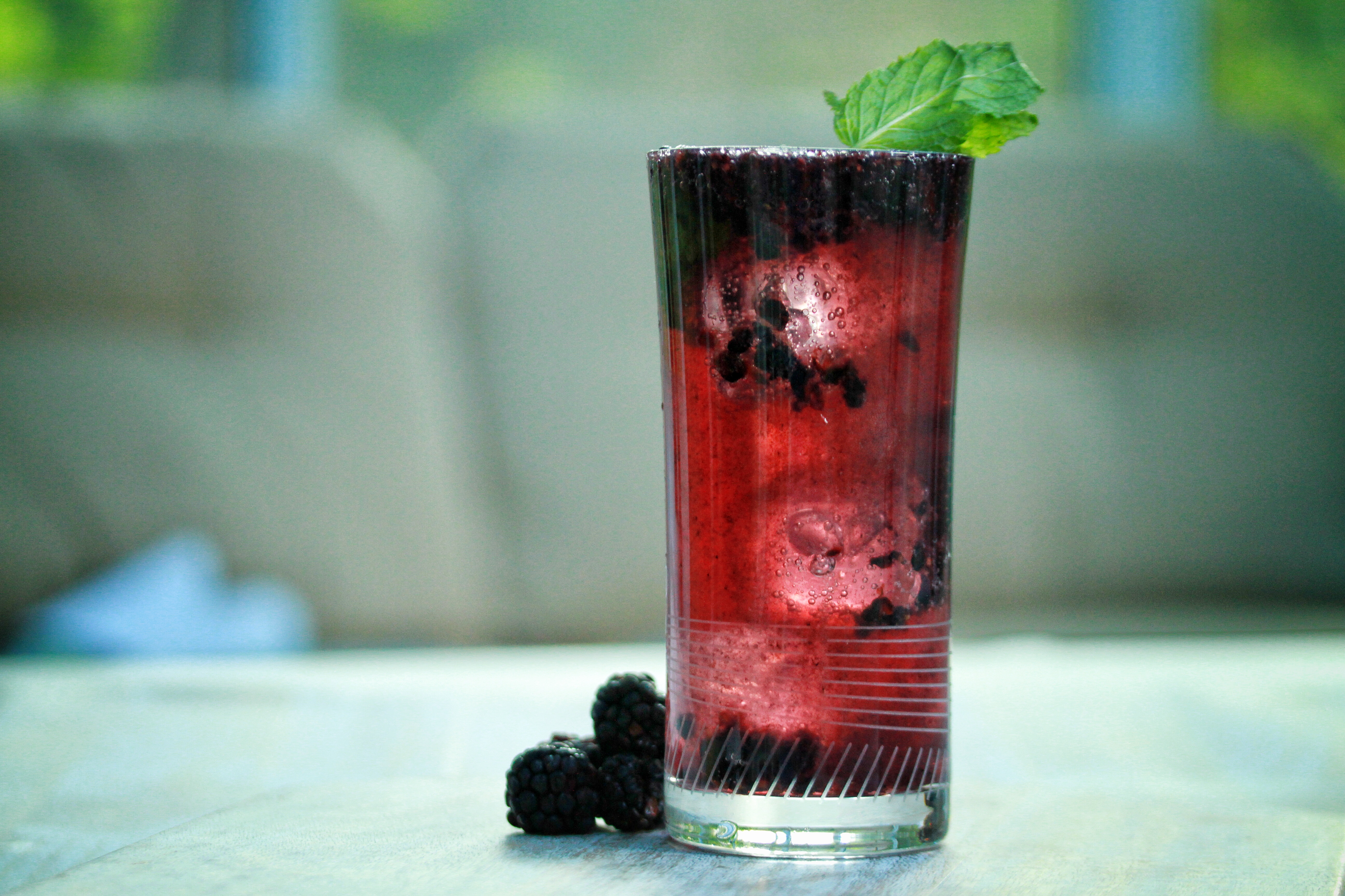 Blackberry Moijito