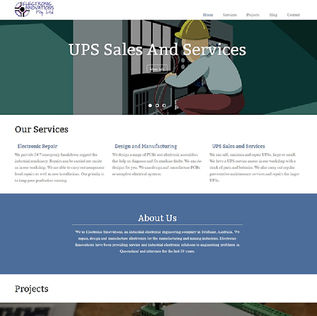 Electronic Innovation Website