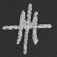 MT monogram white transparent backgrroun