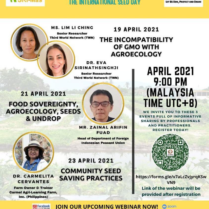 🌱THE INTERNATIONAL WEBINAR ON AGROECOLOGY & COMMUNITY: SERIES 4/2021🌱
