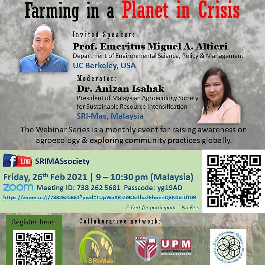 🌱THE INTERNATIONAL WEBINAR ON AGROECOLOGY & COMMUNITY: SERIES 2/2021🌱
