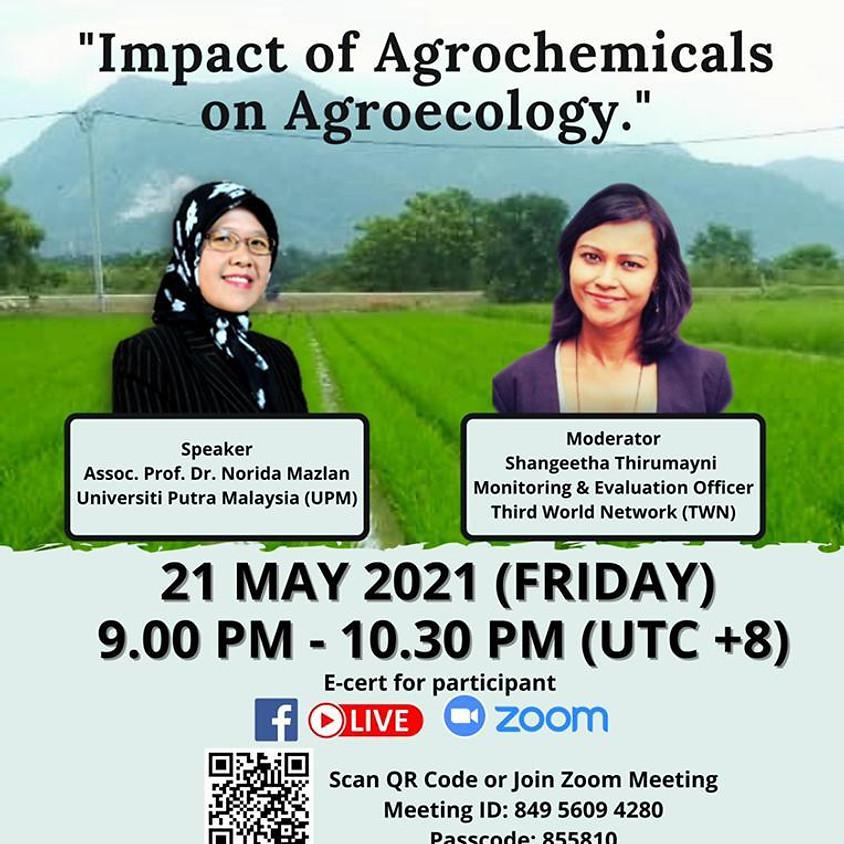 🌱THE INTERNATIONAL WEBINAR ON AGROECOLOGY & COMMUNITY: SERIES 5/2021🌱