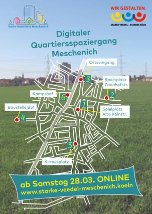 🌿 Digitaler Quartiersspaziergang durch Köln Meschenich