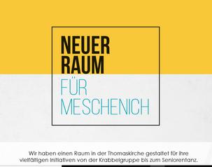 """🙌🏽 MMM - MESCHENICH MACHT'S MÖGLICH: VF Projekt """"Multifunktionsraum"""""""