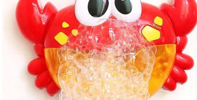 צעצוע בועות מדליק לאמבטיה בצורות שונות של חיות עם מוזיקה