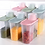 Thumbnail: סט 4/6 אחסוניות גדולות, אטומות ושקופות למטבח ומכסה המשמש ככלי מדידה