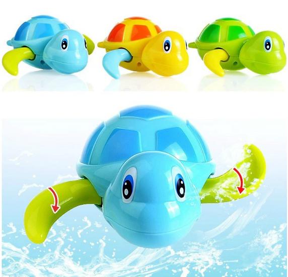 צעצוע אמבט לפעילות והנאה צב ים שוחה לילדים