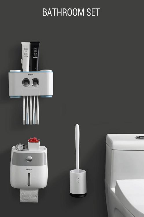מדפים צפים/מרחפים בעיצוב חדשני 2020 לכל החפצים באמבטיה ללא קדיחת חורים