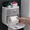 Thumbnail: מדפים צפים/מרחפים בעיצוב חדשני 2020 לכל החפצים באמבטיה ללא קדיחת חורים