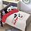 Thumbnail: סט מצעים מדוגמים למיטת מעבר 100% כותנה