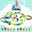 Thumbnail: מסלול הקסם עם אורות ומוזיקה לפעילות ופיתוח מחשבה ויצירתיות אצל ילדים