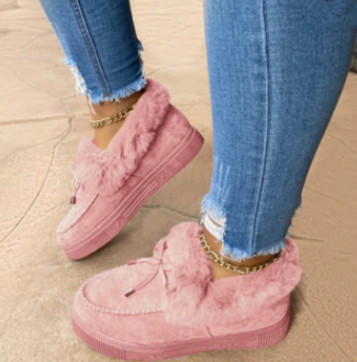 נעלי כותנה אלגנטיות ומפנקות