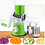 Thumbnail: פומפיה רב תכליתית עם וואקום הצמדה מובנה לחיתוך פריסהולגירוד ירקות בעיצוב חדשני