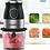 Thumbnail: קוצץ מזון, מטחנת בשר ובלנדר נייד 4 ב 1