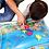 Thumbnail: משחק מים מתנפח לתינוקות עם דגים להנאה והתפתחות התינוק
