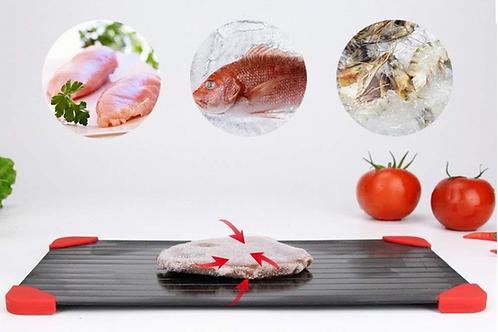 משטח הפשרה מפשיר בשר ומזון קפוא במהירות