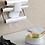 Thumbnail: מדף משולב למטבח ללא קדיחת חורים עם אחסון מובנה לנייר כסף ניילון נצמד ונייר סופג
