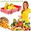 Thumbnail: 2/3/4 קופסאות פטנט אטומות לשמירה על טריות המזון והסדר במקרר