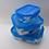 Thumbnail: סט 3 קופסאות אחסון מזכוכית מבית לומינארק מתאימות למיקרוגל /פלטת שבת ועוד