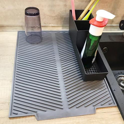 משטח סיליקון מעוצב ואיכותי לייבוש הכלים