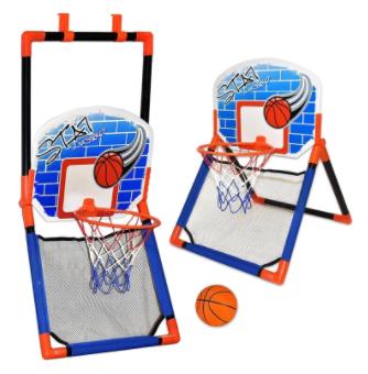 משחק כדורסל 2 ב 1 לרצפה ולתליה