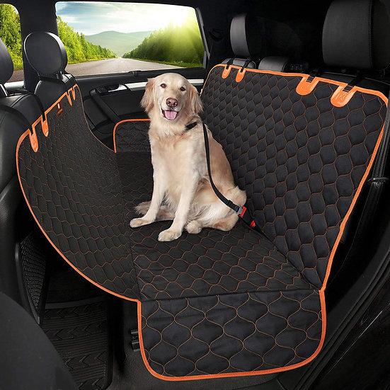 כיסוי מושב אחורי עם ערסל לרכב עמיד לבוץ, פיפי, נוזלים, שערות ניתן לניקוי בקלות