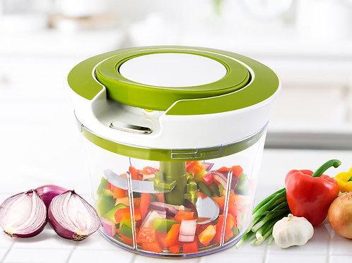 קוצץ רב עוצמה ידני ללא צורך בחשמל להכנת סלטים ותערובות מתאים לכל סוגי האוכל