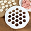 Thumbnail: תבנית להכנת רביולי,כיסוני בשר כופתאות ועוד
