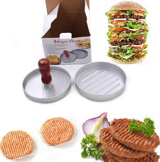 מכשיר נון סטיק להכנת  המבורגרים בגדלים שונים