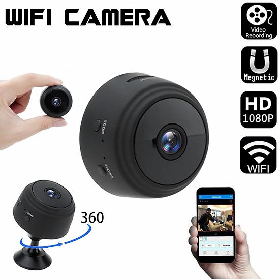 מינימצלמה באיכות 1080 עםראיית לילהמקליט וידאו ותמיכה בכרטיסי זיכרון